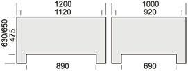 Model 1163 F