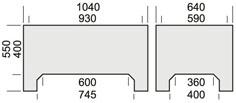 Model  1425 F